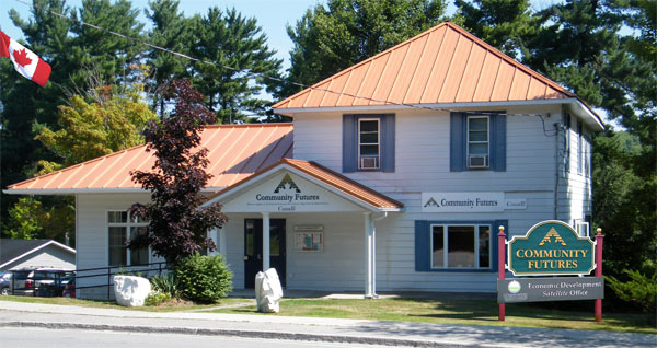community futures bancroft office